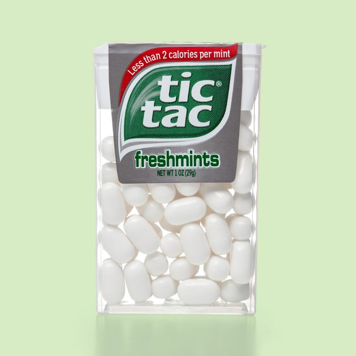 package of tic tac brand mints