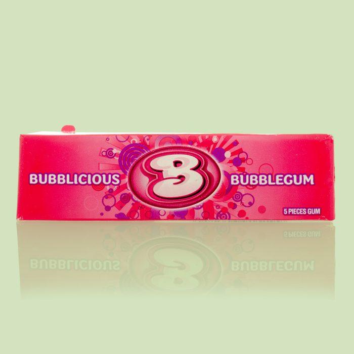 package of bubblicious bubble gum