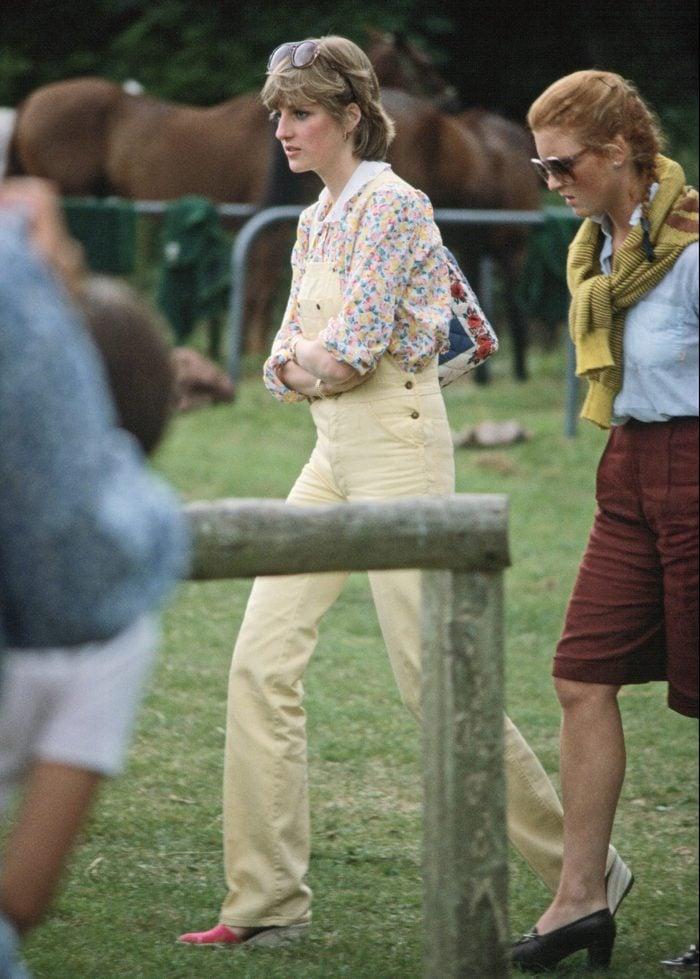 Lady Diana Spencer And Sarah Ferguson Pre-marriage