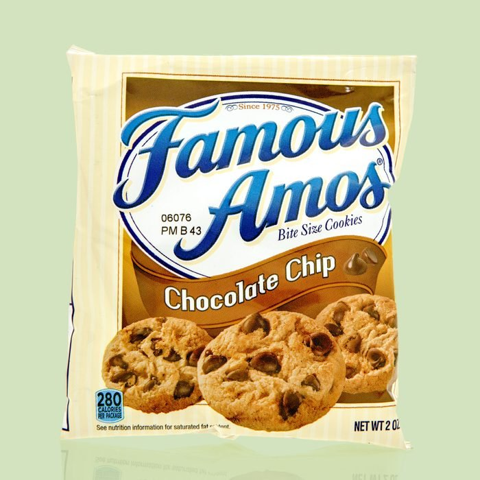 package of famous amos chocolate chip cookies