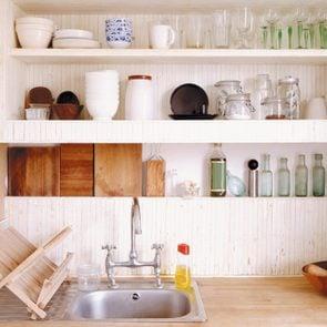 A modern organized kitchen
