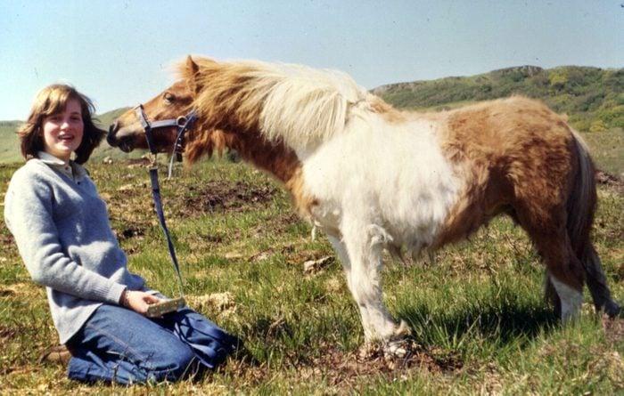 Diana with pony