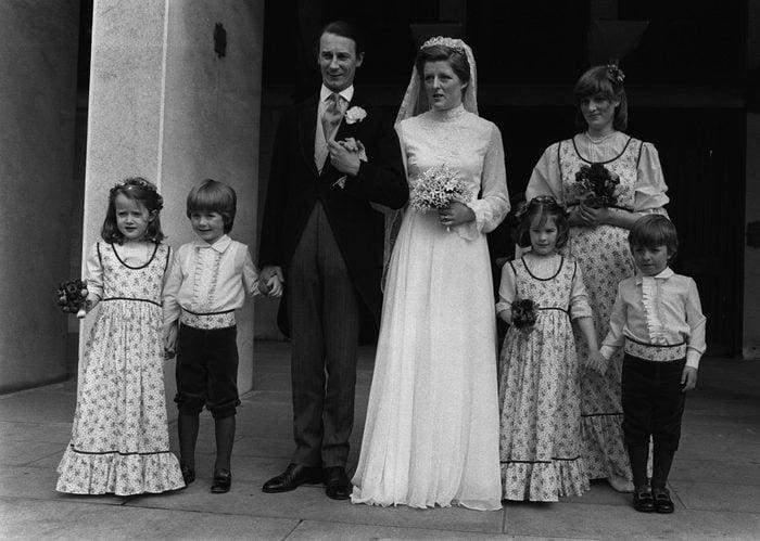 FELLOWES WEDDING : 1978