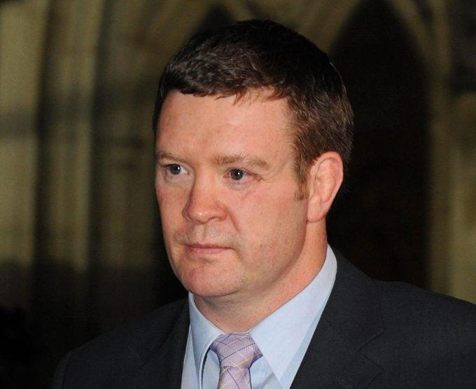 Trevor Rees-Jones, former bodyguard of Princess Diana, January 2008