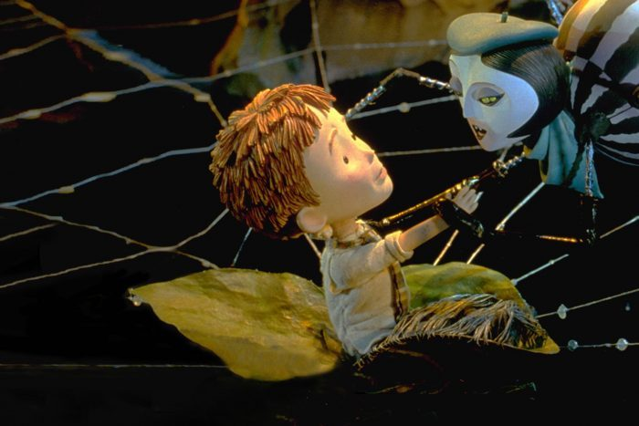 Scene from James And The Giant Peach