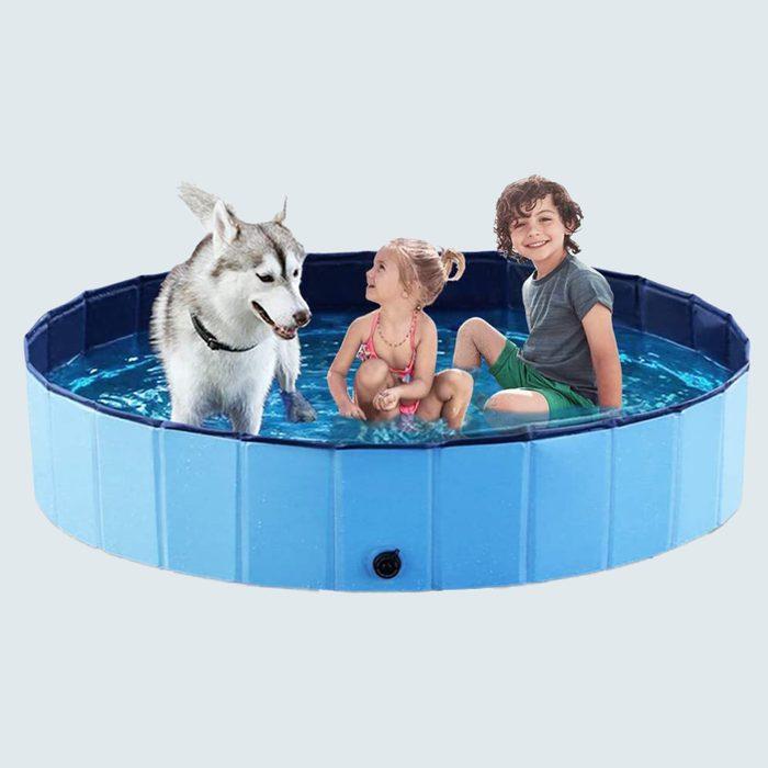 Jasonwell Foldable Dog And Kiddie Pool