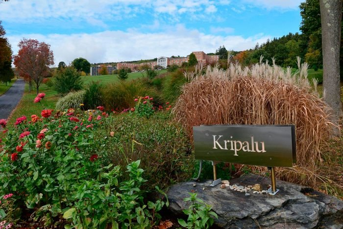 view of exterior and sign of Kripalu Center For Yoga & Health, Massachusetts