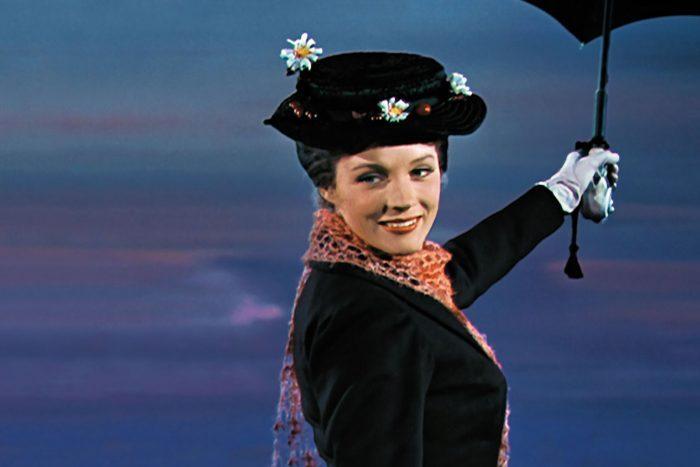 Scene from Mary Poppins