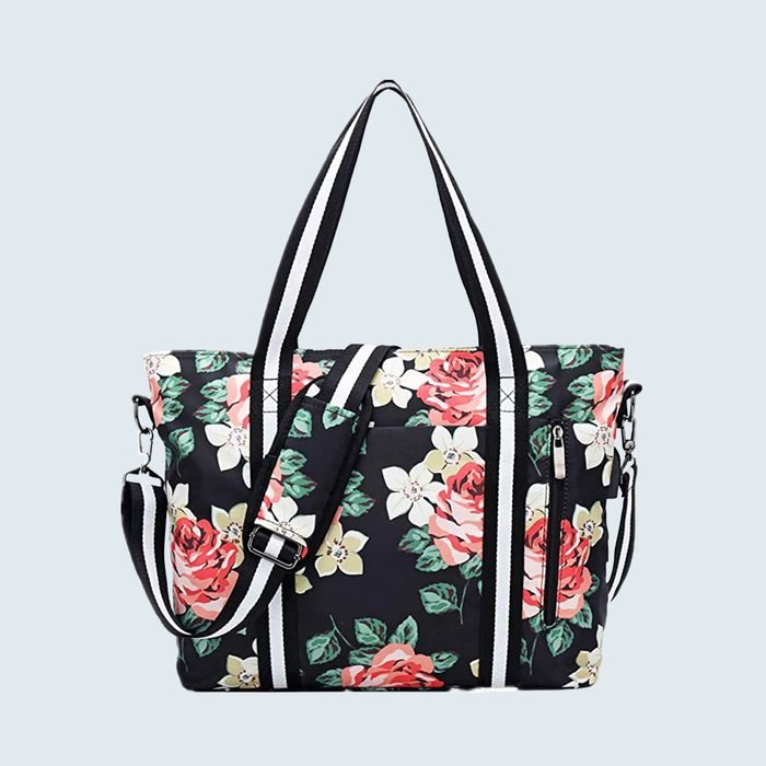 Meisohua Travel Laptop Tote Bag With Usb Charging Port