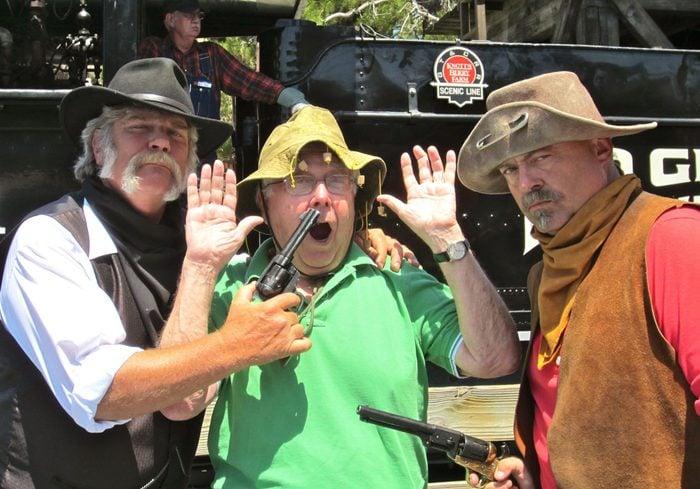 Paul Ruben in knotts Berry Farm Buena Park Ca