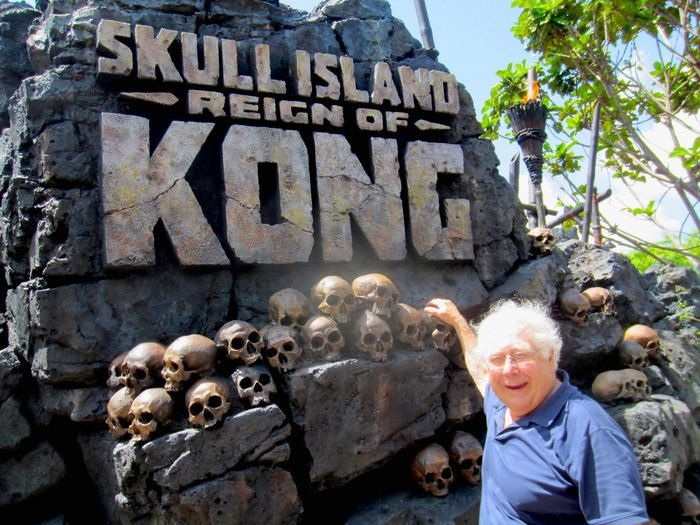 Paul Ruben skull Island Universals Islands Of Adventure Fl