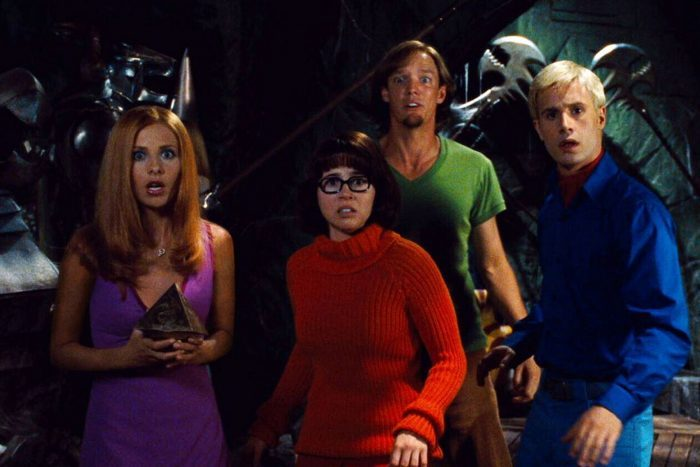 Scene from Scooby Doo: The Movie