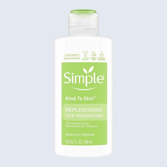 Simple Kind To Skin Face Moisturizer For Sensitive Skin