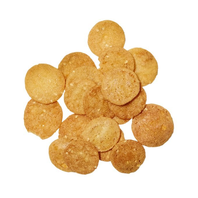 Pile of benne wafers
