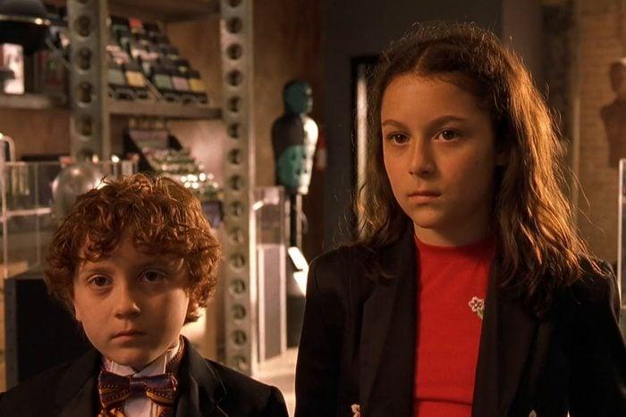 Scene from Spy Kids