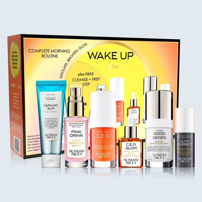Sunday Riley 6 Pc. Wake Up With Me Complete Brightening Morning Routine