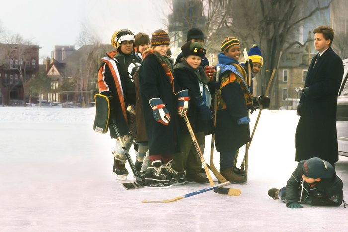 Scene from The Mighty Ducks