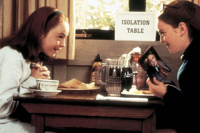 Scene from The Parent Trap