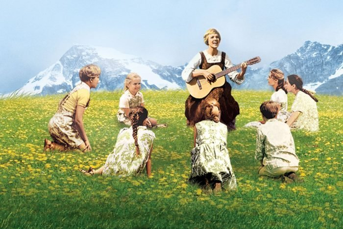 Scene from The Sound Of Music