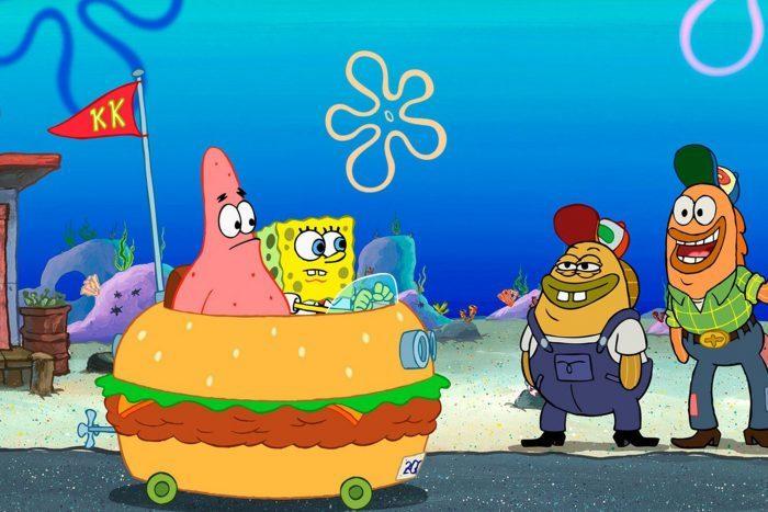Scene from The Spongebob Squarepants Movie