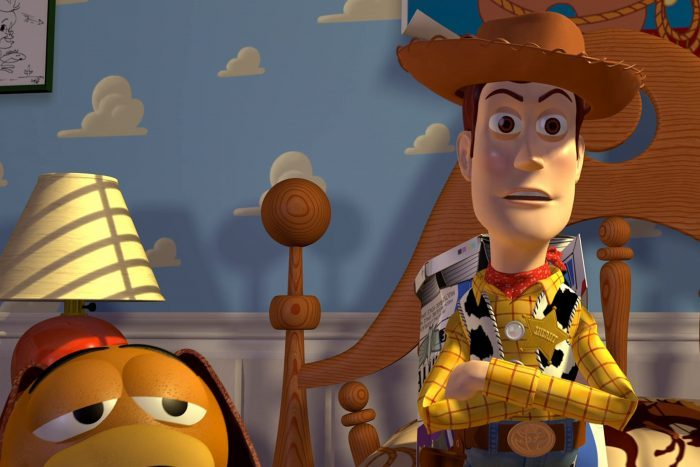 Scene from Toy Story