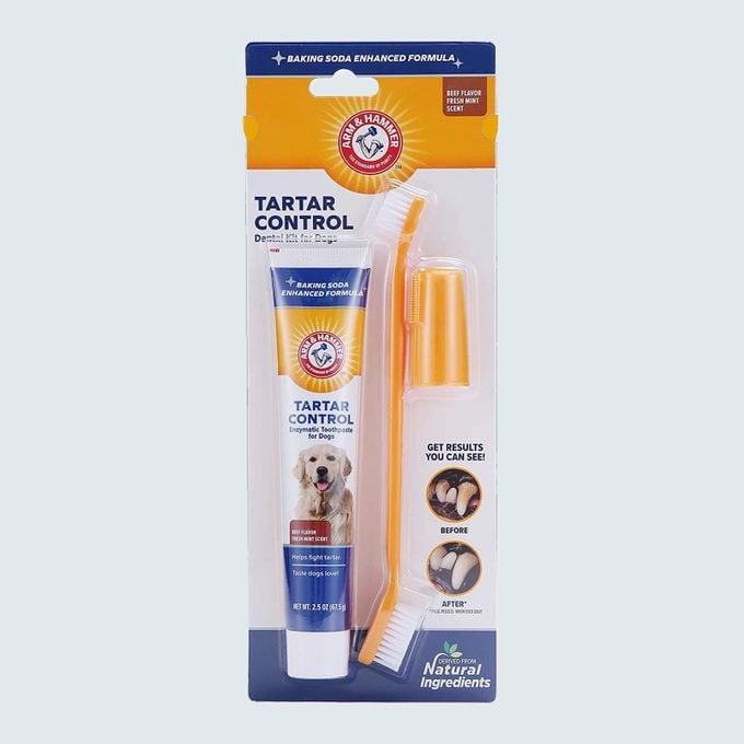 Arm & Hammer For Pets Tartar Control Dental Kit For Dogs