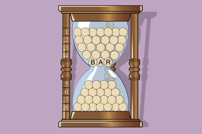 Brain teaser 2: Hourglass