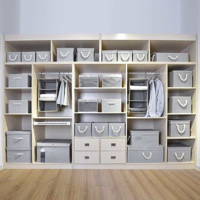 Closet Cubbies for organization
