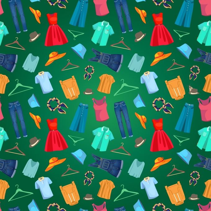 find the moth among the clothes visual puzzle