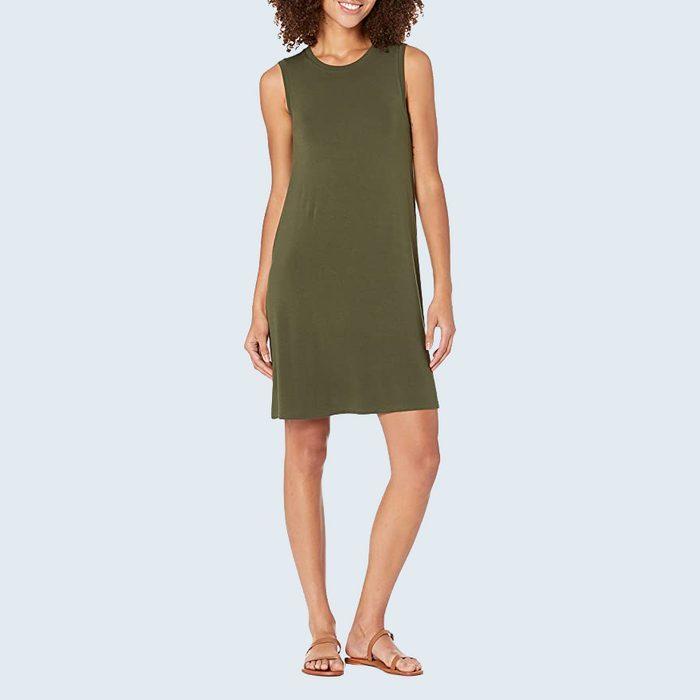 jersey swing dress from amazon