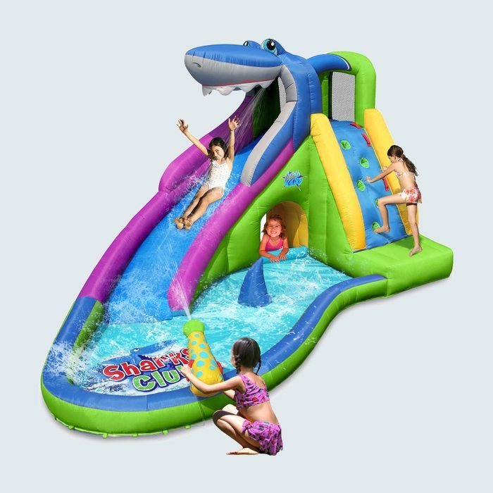 ACTION AIR Inflatable Waterslide