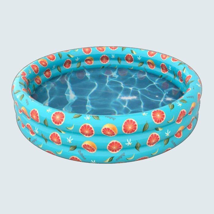 Poolcandy Adult Inflatable Rainbow Sunning Pool
