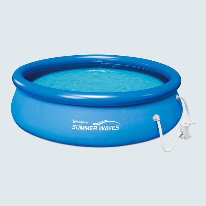 Summer Waves Above Ground Inflatable Swimming Pool