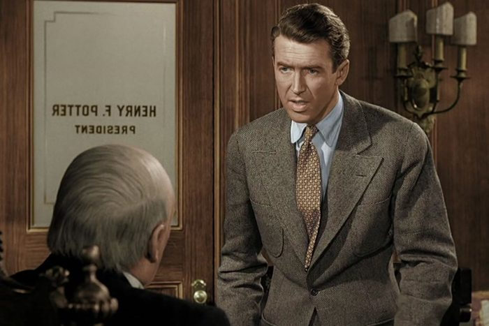Scene from It's A Wonderful Life