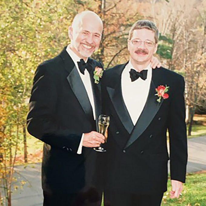Larry Best and his husband Kori
