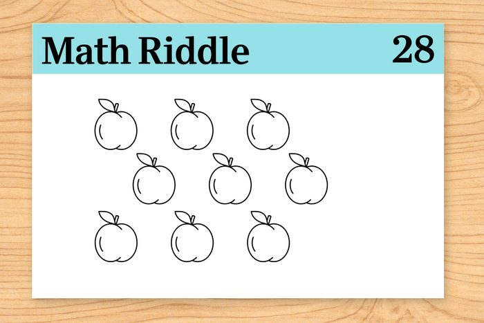 9 peaches