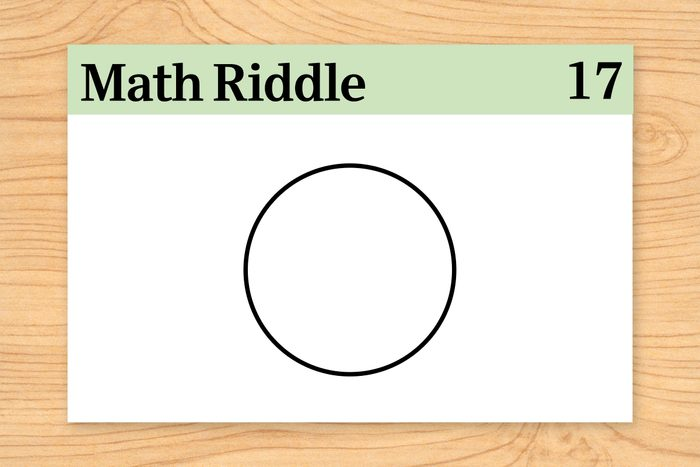 circle three slots for digits on math riddle flashcard