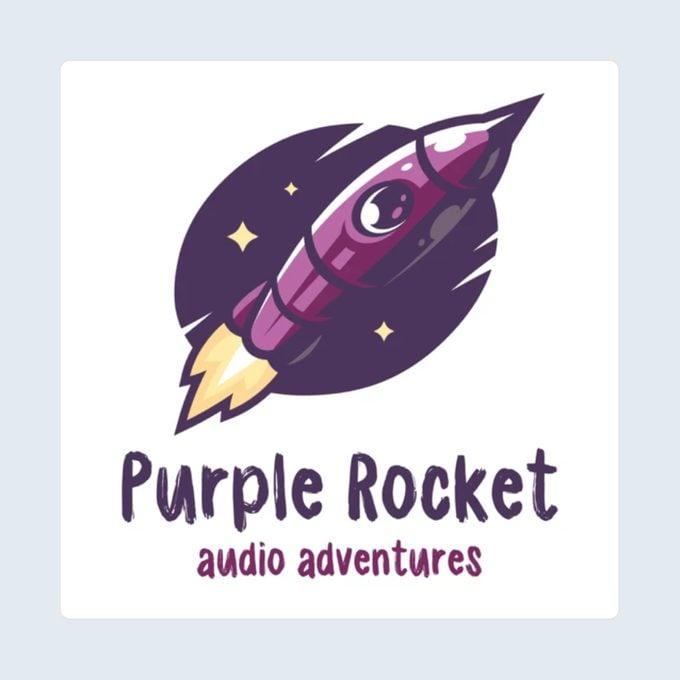 Purple Rocket Audio Adventures podcast for kids