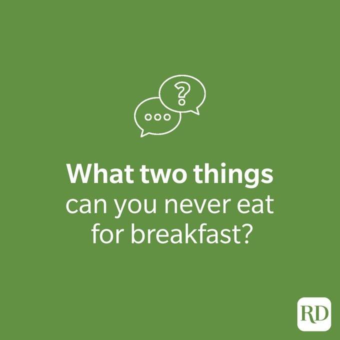 Breakfast riddle