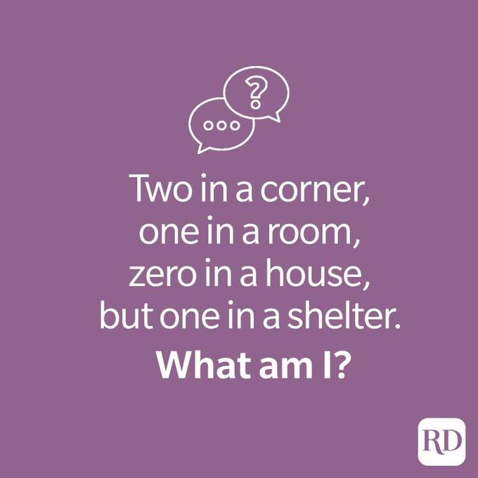 Corner riddle