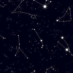 Stars in constellations