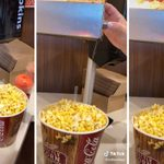 This Genius Hack Will Change the Way You Butter Movie Theater Popcorn