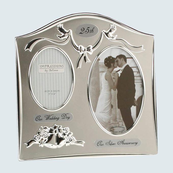 25th Anniversary Silver Frame