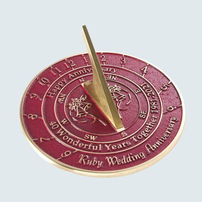 40th Anniversary Ruby