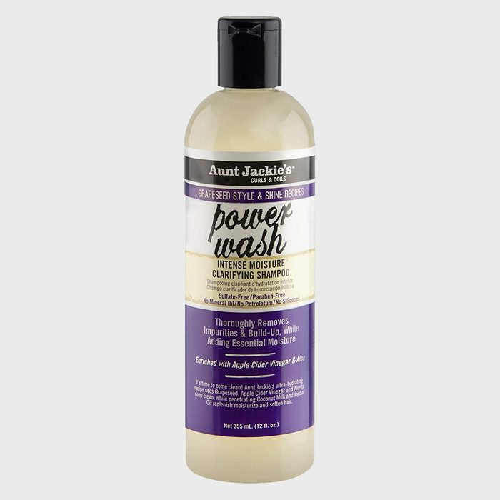 Aunt Jackies Power Wash Intense Moisture Clarifying Shampoo