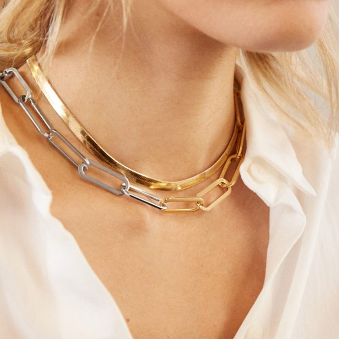 Baublebar Hera Two Tone Necklace