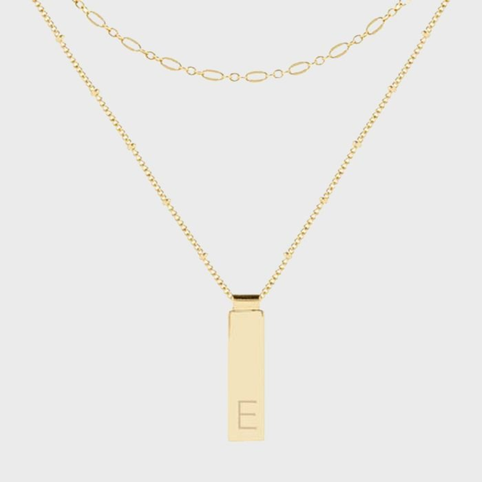 Brook And York Maisie Initial Layering Necklaces