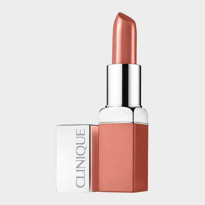 Clinique Pop Lip Colour And Primer In Nude Pop
