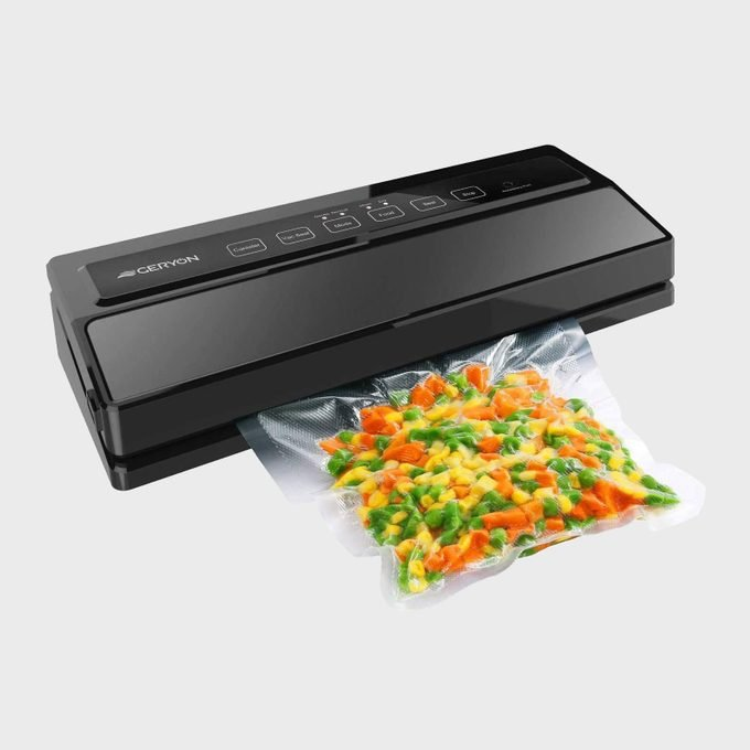 Geryon Vacuum Sealer Automatic Food Sealer Machine For Food Savers With Starter Kit