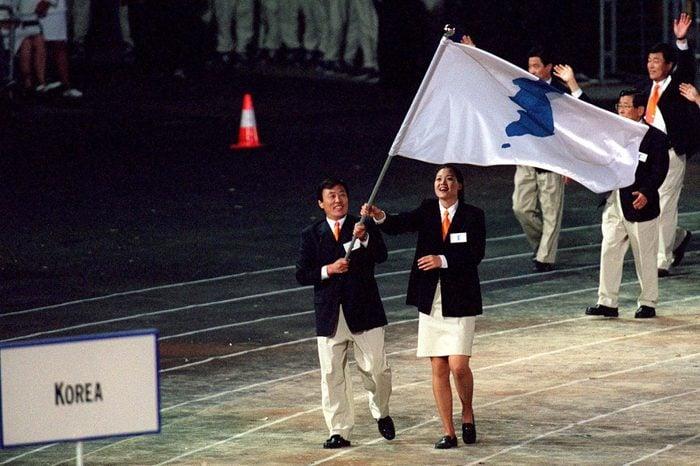 Sydney Olympics, Opening Ceremony In Sydney, Australia On September 15, 2000.